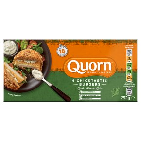 Quorn 4 Chicken Style Burgers