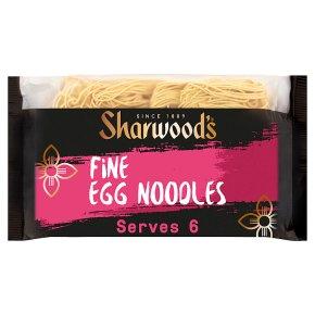 Sharwoods fine egg noodles