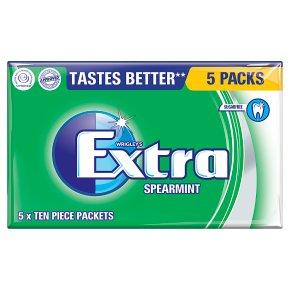 Wrigley's Extra spearmint sugarfree