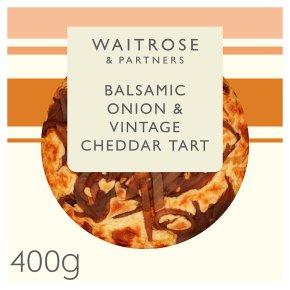 Waitrose Balsamic Onion West Country Cheddar Tarte