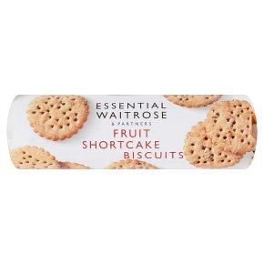 essential Waitrose fruit shortcake biscuits