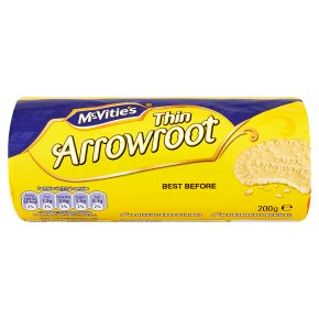 McVitie's thin arrowroot