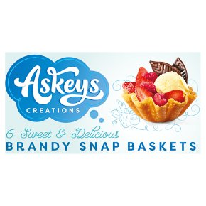 Askey's 6 x Brandy Snap Baskets