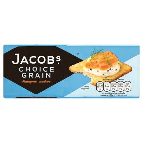 Jacob's choice grain crackers