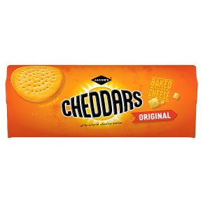 Jacob's Cheddars Cheese Biscuits