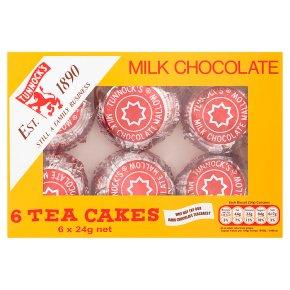 Tunnock's milk chocolate tea cakes