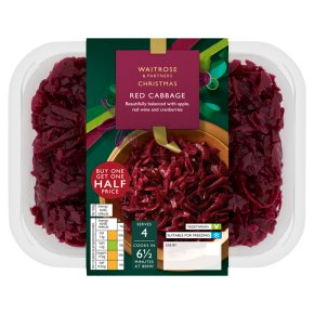 Waitrose Christmas red cabbage