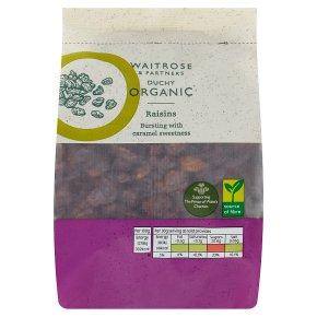 Waitrose Duchy Organic raisins