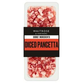 Waitrose Cooks' Ingredients Italian diced pancetta