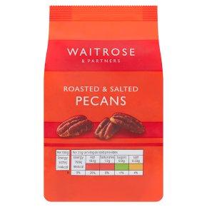 Waitrose roasted salted pecan nuts