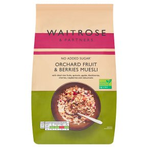 Waitrose muesli fruits & berries