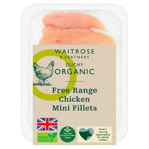 Duchy Organic British Chicken Mini Fillets