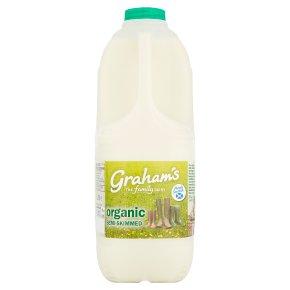 Graham's organic semi-skimmed Scottish milk
