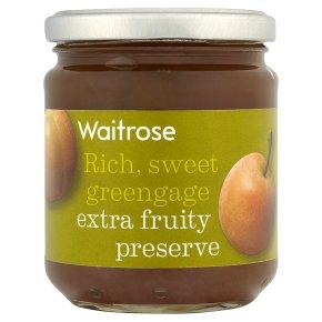 Waitrose greengage conserve
