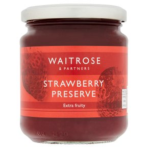 Waitrose strawberry preserve