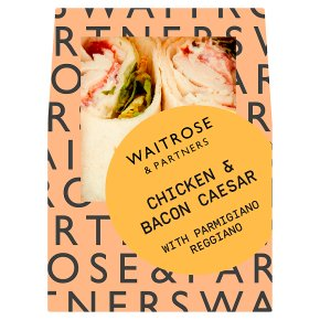 Waitrose chicken caesar salad wrap