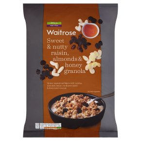 Waitrose Honey Raisin & Almond Oat Crunchy