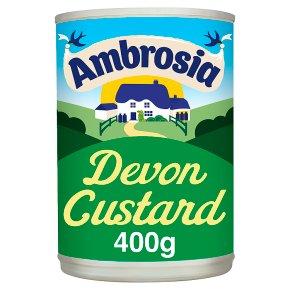 Ambrosia tinned Devon custard