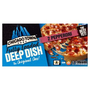 Chicago Town 2 Deep Dish Pepperoni Pizzas