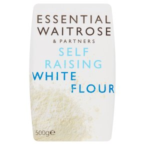 essential Waitrose self-raising white flour