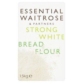 essential Waitrose strong white bread wheat flour