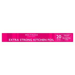 essential Waitrose aluminium foil, 30cm by 20m