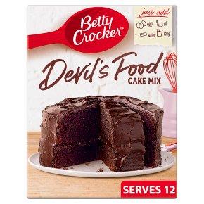 Betty Crocker Devil's Food Chocolate Cake Mix