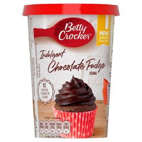 Betty Crocker Indulgent Icing Chocolate Fudge