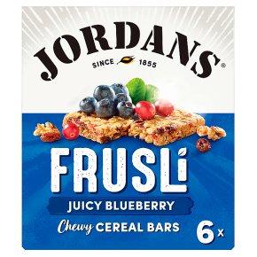 Jordans blueberry frusli bars