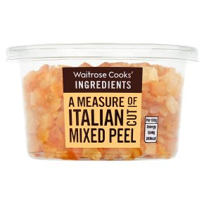 Waitrose Cooks' Homebaking mixed peel