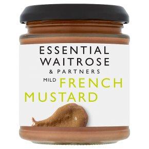 essential Waitrose French mustard