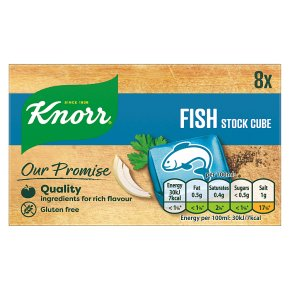 Knorr 8 pack fish stock cubes