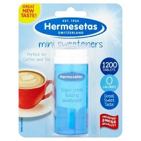 Hermesetas Mini Sweeteners 1200 Tablets