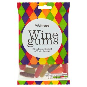 Waitrose wine gums