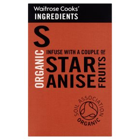 Waitrose Cooks' Ingredients organic star anise