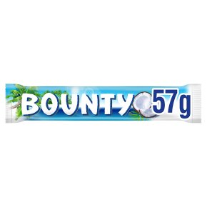 Bounty milk chocolate single bar