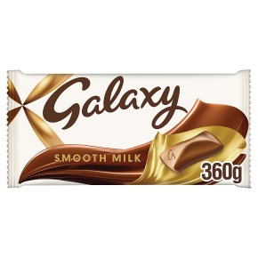 Galaxy milk chocolate large bar