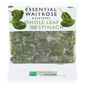 Essential Whole Leaf Spinach