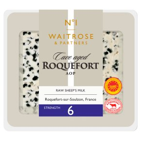 Waitrose 1 cave-aged Roquefort A.O.P cheese