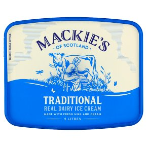 Mackie's Traditional Dairy Ice Cream