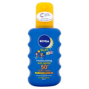 Nivea Sun Kids 50+ Moisture Sun Spray