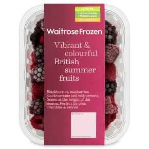 Waitrose British Summer Fruits