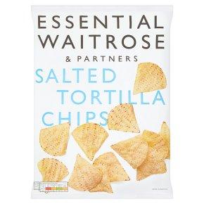 essential Waitrose Tortilla Chips Salted
