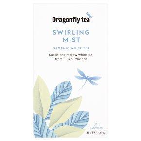 Dragonfly Organic Swirling Mist White Tea 20 sachets