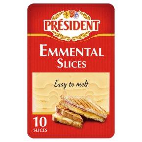 Président Emmental Cheese 10 Slices