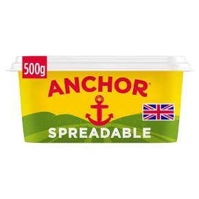 Anchor spreadable