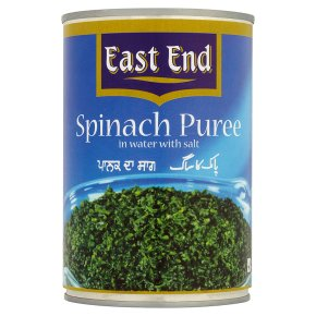 East End Spinach Puree
