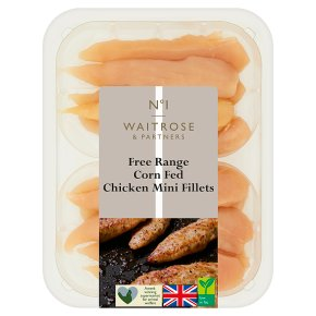 Waitrose 1 Free Range British chicken mini fillets