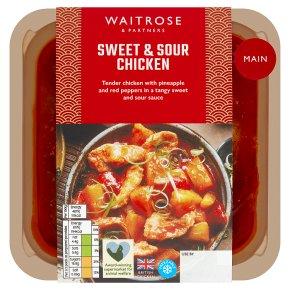 Waitrose sweet & sour chicken