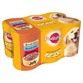 Pedigree can selection in jelly